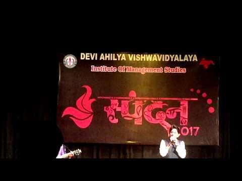"Live performance of Ghazals at ""Spandan"" IMS davv, Indore"
