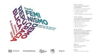 Pablo Iglesias cierra la Jornada 'España: Feminismo, República y Democracia'