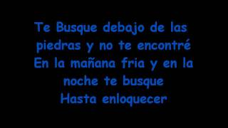 Nelly Furtado ft. Juanes - Te Busque (Lyrics)