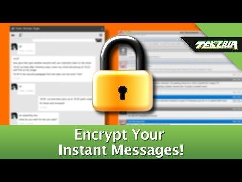 Encrypt Your Instant Messages And Keep Chat Private!
