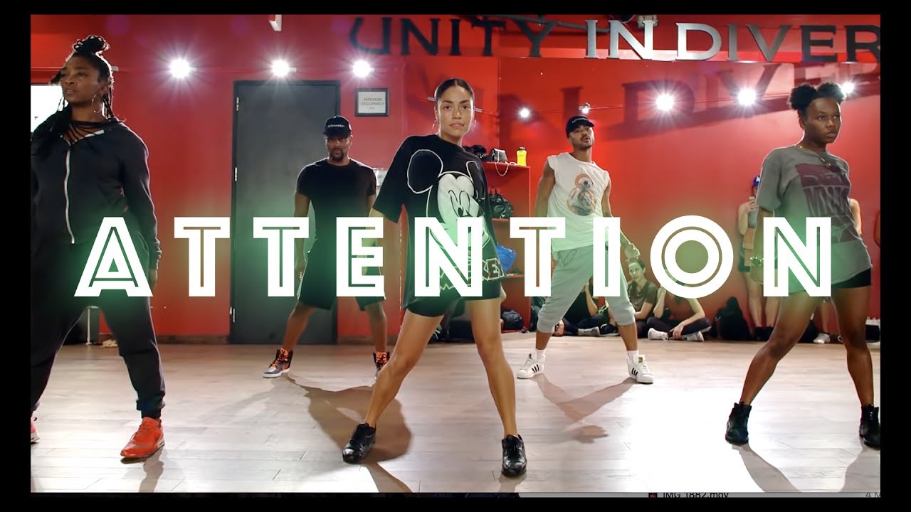 """Charlie Puth - """"Attention"""" - JR Taylor Choreography"""