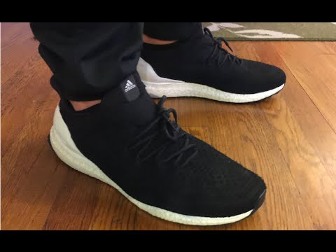 e1ce06270e8c3 Custom Uncaged Painted dyed Hypebeast Coreblack Gradient Ultra Boost  Tutorial Review On Foot