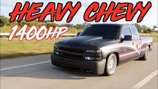1400HP Turbo Silverado Extended Cab?! The Heavy Chevy