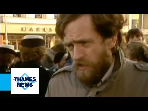 Jeremy Corbyn Speaks Out On The National Front   Thames News