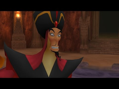 Kingdom Hearts: Jafar Boss Fight (PS3 1080p)