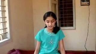 Deeksha and Indian Classical music 2 (Vocal, Carnatic)