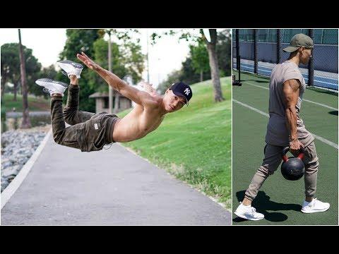 Crazy Workout Skills And Strength - BEST OF Warren James Li (American Ninja Warrior) - 2017