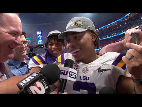 Justin Jefferson believes potent LSU offense can reach ultimate gear in national title game