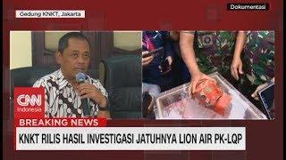 Ini  Hasil Investigasi Jatuhnya Lion Air PK-LQP Dari KNKT
