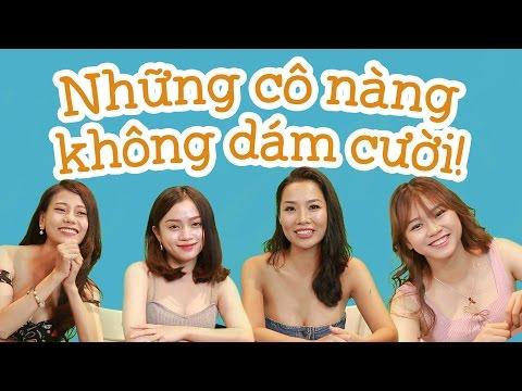 Bạn có dám? - Những cô gái và Thử thách nhịn cười - Game show hài hước Việt Nam