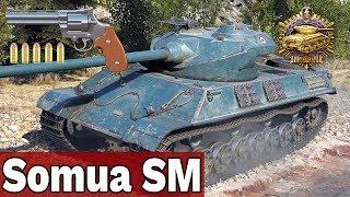 POTĘGA MAGAZYNKA - Somua SM - World of Tanks