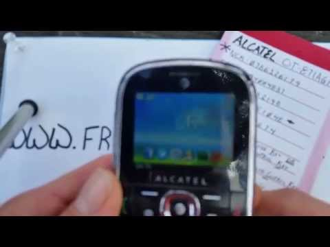 How To Unlock Alcatel OT871