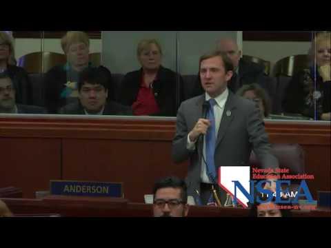 NSEA 79th Legislative Session Mar. 2, 2017 B. Anderson life remembered