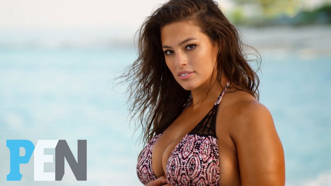 a910b898dba2 Ashley Graham: 'The Smaller The Bikini, The Better' | PEN | Sports  Illustrated Swimsuit - YouTube