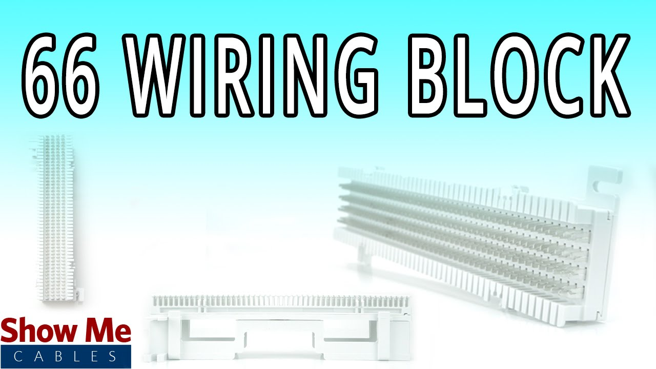 66 wiring block easily route your cable in the home or office ic066nb050 [ 1280 x 720 Pixel ]