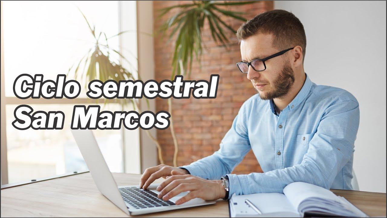 Nuevo ciclo Semestral San Marcos