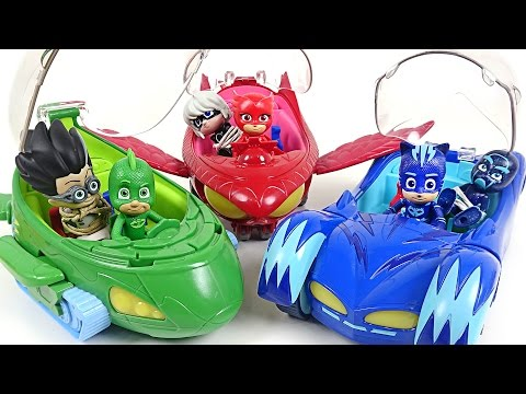 Thumbnail: PJ Masks New Deluxe vehicles appear!! Villains! Come on!! - DuDuPopTOY
