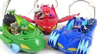 PJ Masks New Deluxe vehicles appear!! Villains! Come on!! - DuDuPopTOY