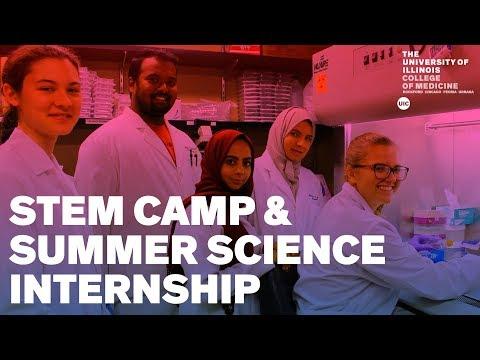 UIC Rockford High School Programs – STEM Camp & Summer Science Internship