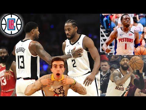 CLIPPERS BUILDING A SUPERTEAM?!? 2020 NBA CHAMPIONS?? LA VS LA WCF!!