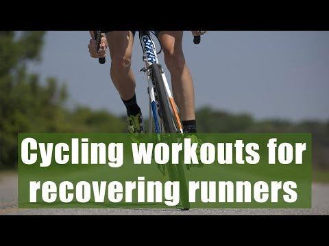 Cycling workouts for recovering runners