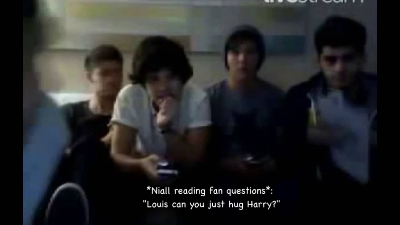 proof that harry and louis are dating