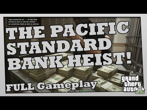 GTA 5 HEIST Online - Der letzte BANKÜBERFALL! THE PACIFIC STANDARD BANK HEIST! Full Gameplay!