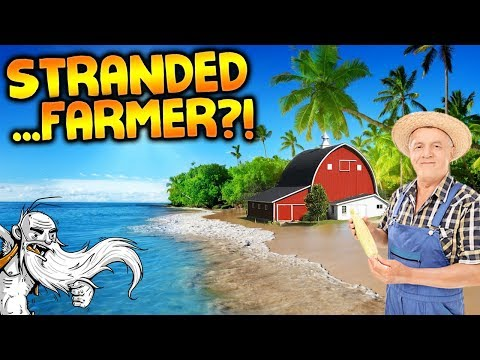 Tropical Farming in Stranded Deep! - Let's Play Stranded Deep Gameplay