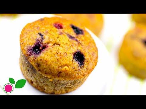 🍓 Muffins de Almendra y Coco | Sin Azúcar | Sin Harinas Refinadas | Yo +Green