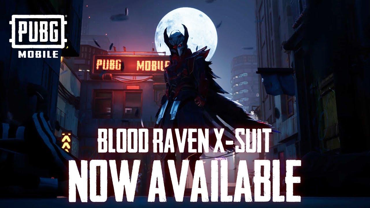 PUBG MOBILE Blood Raven Now Available