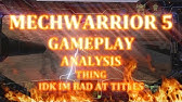 MechWarrior 5 Mercenaries - Breakdown/Analysis Podcast (w/ RedSail