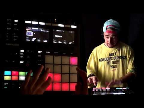 Maschine MK3 - Live EDM Track !!!    By BassKleph(365 Music Challenge)