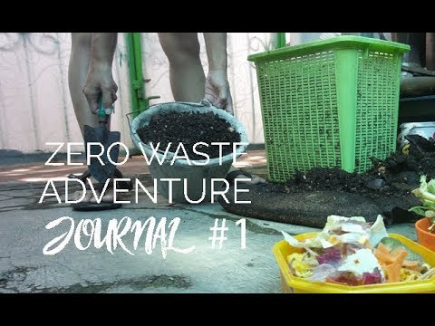 Zero Waste Adventure Journal #1: Cara Membuat Komposter Takakura