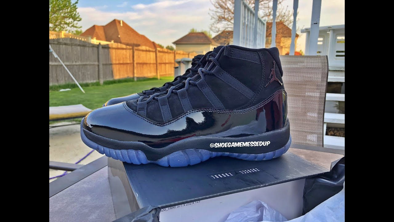 2b8dcead511 Jordan XI 11 Cap And Gown   Prom Night (Unboxing)   (Review) (HD ...