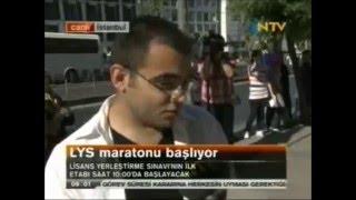 2012 LYS Röportaj NTV Canlı Yayın