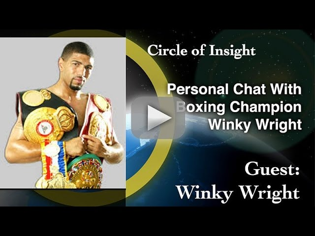 Personal Chat With Boxing Champion Winky Wright