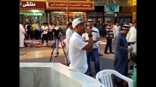 ofw campaigning for mayor duterte in public dahwa in saudi arabia