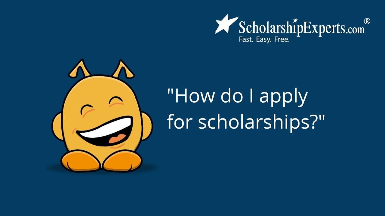 Scholarships.. how do i apply?