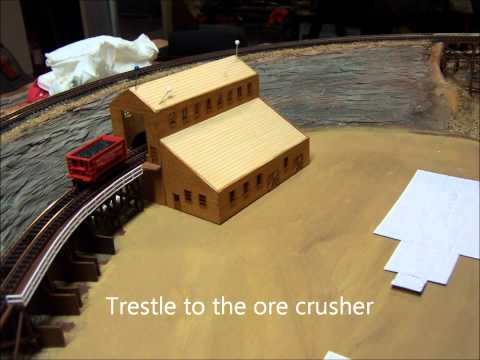 N scale layout construction