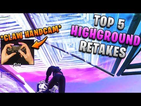 Top 5 Most Useful Highground Retakes (Handcam)