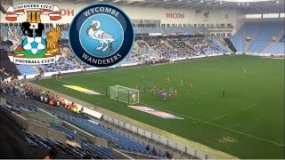 Matchday Experience Coventry City VS Wycombe Wanderers 13/10/2018