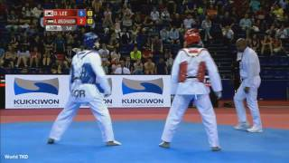 Taekwondo SEMI FINAL MALE -68kg | LEE, DAE-HOON (KOR) vs ALEXEY (RUS)