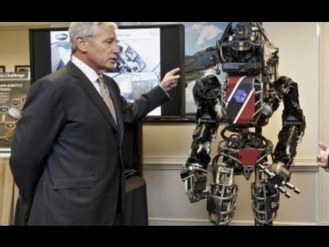 "New ""Terminator"" Robot is for Humanitarian Purposes Says Department of Defense!!"