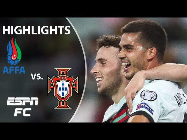 Portugal cruises to win without Cristiano Ronaldo   WCQ Highlights   ESPN FC