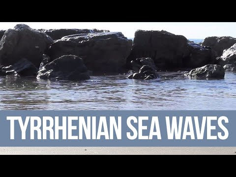 """Relaxation Series"" - Tyrrhenian Sea Waves (Full HD 1080p)"