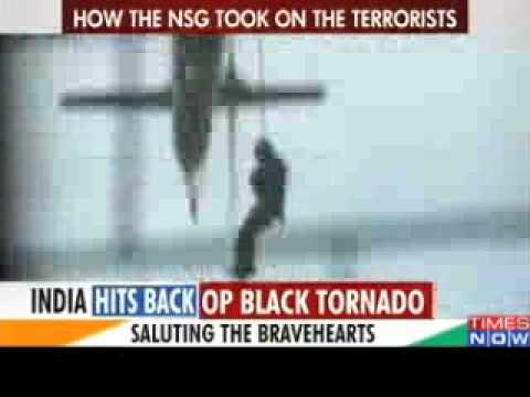 Mumbai Terror Attack NSG commandos take on the terrorists