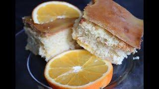 Очень вкусный апельсиновый пирог/Легкий рецепт