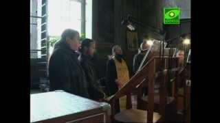 В Задонском мужском монастыре действует братский хор(Церковные песнопения располагают наше сердце к молитве и покаянию. В Задонском мужском монастыре много..., 2012-09-28T08:38:40.000Z)