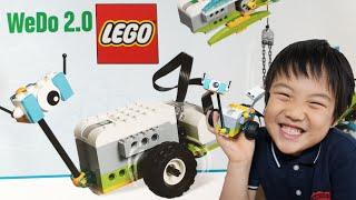 LEGOを作ったロボットのプログラミングに挑戦! iPadのアプリを使って簡...