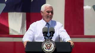Vice President Pence Delivers Remarks to Employees at Winnebago Industries